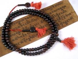 Mala39 Mala de Prières Os de Buffle Tibet