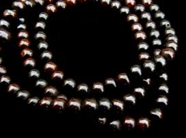 Mala57 Mala de Prières Os de Buffle Tibet