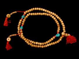 Mala89 Mala de Prières Os de Buffle Tibet