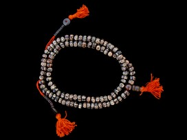 Mala91 Mala de Prières Os de Buffle Tibet