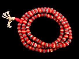 Mala55 Mala de Prières Os de Buffle Tibet
