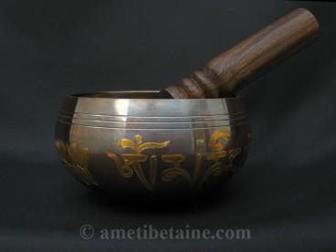 BC58 Bol Chantant Mantra Yeux de Bouddha