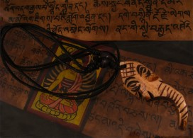 CD08 Collier Tibétain Ganesh
