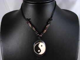 CD36 Collier Tibétain Yin Yang