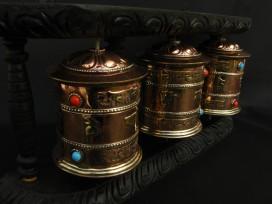 RP85 Roue à Prières Tibétaine Mantra