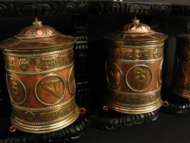 RP95 Roue à Prières Tibétaine Mantra
