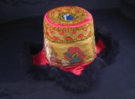 ChTT03 Chapeau Tibétain Traditionnel
