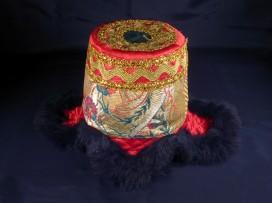 ChTT02 Chapeau Tibétain Traditionnel