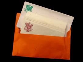 PL15 Papier à Lettre Népalais Noeud Sans Fin