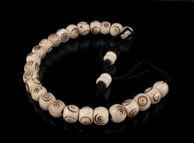 BrMala08 Bracelet Mala Os de Buffle