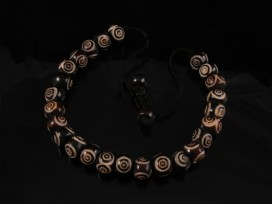 BrMala11 Bracelet Mala Os de Buffle