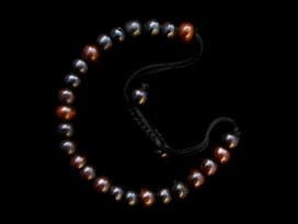 BrMala201 Bracelet Mala Os de Buffle