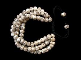 BrMala205 Bracelet Mala Os de Buffle