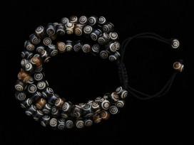 BrMala207 Bracelet Mala Os de Buffle