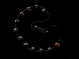 BrMala212 Bracelet Shambhala Os de Buffle