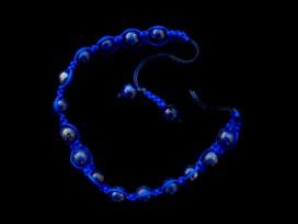 BrMala216 Bracelet Shambhala Lapis Lazuli