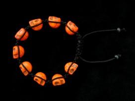 BrMala222 Bracelet Shambhala Crâne Os de Buffle