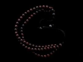 BrMala227 Bracelet Mala Bois de Rose 6 mm
