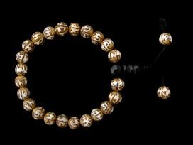 BrMala258 Bracelet Mala Conque Mantra