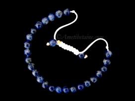 BrMala293 Bracelet Mala Sodalite
