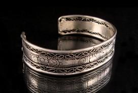 BRD35 Bracelet Tibétain Mantra Om Mani Padme Hum