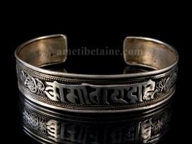 BRD183 Bracelet Tibétain Mantra Om Mani Padme Hum