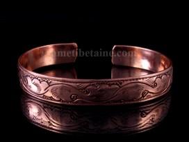 BRD245 Bracelet Tibétain Cuivre