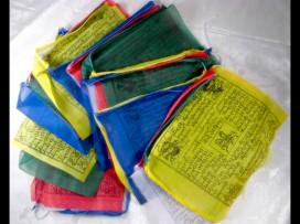 DP05 Drapeaux de prières tibétains