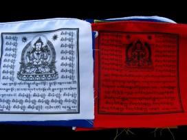 DP09 Drapeaux de Prières Tibétains 1,2 m
