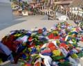 DP10 Drapeaux de Prières Tibétains 1,75 m