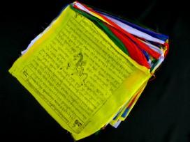 DP16 Grands Drapeaux de Prières Tibétains 8,5 m