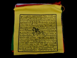DP17 Drapeaux de Prières Tibétains en Coton 8,5 m