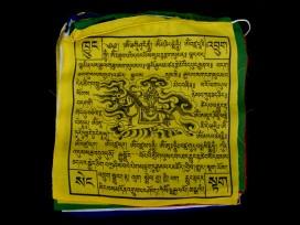 DP19 Drapeaux de Prières Tibétains en Coton 6,5 m