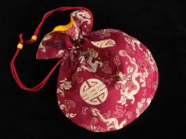 PochTib94 Pochette Tibétaine pour Mala