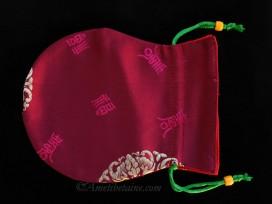 PochTib104 Petite Pochette Tibétaine pour Mala