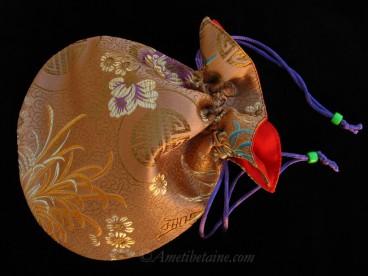 PochTib110 Pochette Tibétaine pour Mala