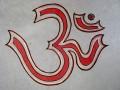 AF35 Affiche Tibétaine Papier Népalais Om