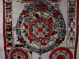 AF40 Affiche Tibétaine Papier Népalais