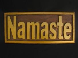DMD41. Panneau en Bois NAMASTE