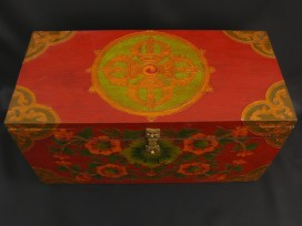 CTT31 Coffret Traditionnel Tibétain Double Dorje Vajra