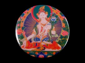 DDD07 Magnet Tibétain Tara Déesse Bouddhiste Népal Tibet