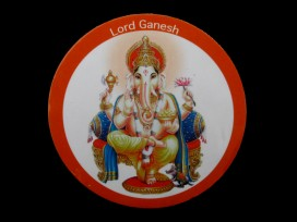 DDD22 Magnet Tibétain Ganesh