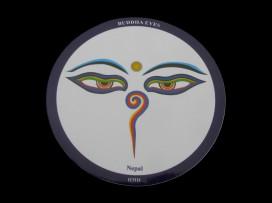 DDD31 Sticker Yeux de Bouddha
