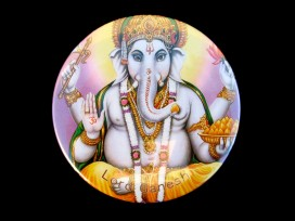 DDD61 Magnet Tibétain Ganesh