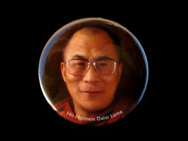 DDD63 Magnet Tibétain Dalai Lama