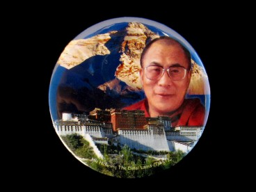 DDD64 Magnet Tibétain Dalai Lama