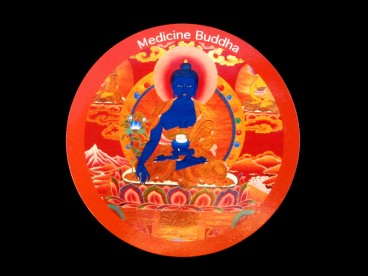 DDD67 Magnet Tibétain Bouddha Népal Tibet