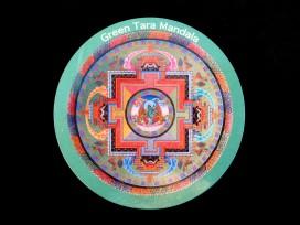 DDD69 Magnet Tibétain Tara Mandala
