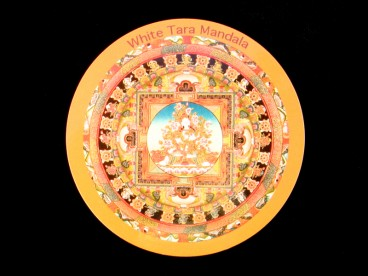 DDD70 Magnet Tibétain Tara Mandala