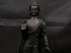 St02a Statue Bouddha Astamangala